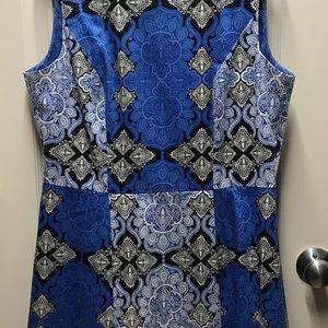Blue dress 14